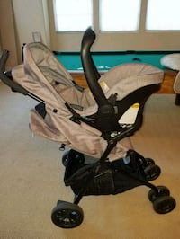 Evenflo carseat and stroller