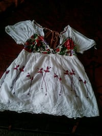white and red floral sleeveless dress El Paso, 79907