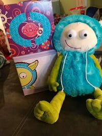 teal, white, and green Scentsy plush toy with box Smithville, 64089