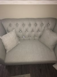 GLAMOURS Love seat and couch set brand new   Edmonton, T6W 0Z7