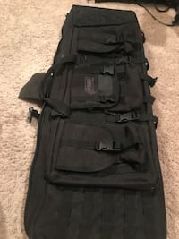 Voodoo dual rifle bag 42""