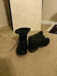 Fold over leather Boots Longwood, 32750