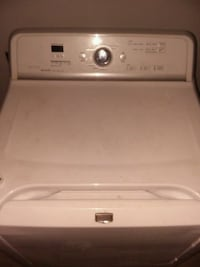 white LG front-load clothes dryer Oklahoma City, 73139