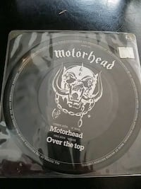 1981 MOTORHEAD OVER THE TOP 45 RPM PICTURE DISC