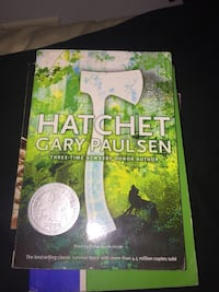 Hatchet by gary paulsen by it or trade for it Rio Grande, 00745
