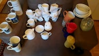 New coffee set + dinnerware + more. See pictures Montréal, H1X 1Y7