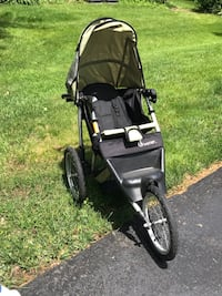 baby's black and gray jogging stroller Freehold, 07728
