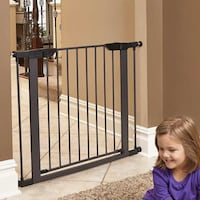 "New, unused.. Midwest Homes For Pets Midwest 39"" High Graphite Steel Gate St Thomas, N5R 6M6"
