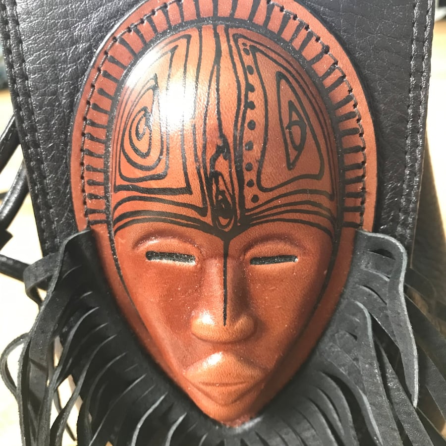 All leather hand crafted African backpack 535fcc24-e556-4193-b740-c6b097d1eb4d