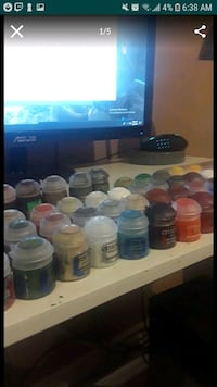 COLLECTION OF ACRYLIC PAINTS buy seperate or all Santa Ana, 92704