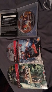 three assorted PS3 game cases Carter Lake, 51510