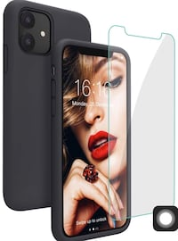Brand new Silicone Phone 11 Case with Free Screen Protector