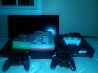 PS3 PS2 Xbox 360 TV two Xbox 360 controllers one P Forest Park, 30297