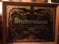Budweiser painted glass picture Downey, 90241