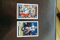 Two signed football player trading cards Elsmere, 41018