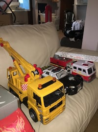Toy cars , fire trucks, ambulance, police cars and tow truck Laval, H7E 4P2