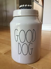Rae Dunn Good Dog Canister w/Crown (New) Burlington, L7L 5X1