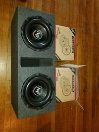TWO 10Inch AUDIOPIPE triple stacks SUBWOOFERS 2800 Bronx, 10470