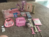 1st Birthday Party Supplies for a Baby Girl Shelby Township, 48317