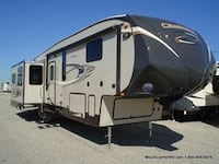 white and gray camper trailer SIMPSONVILLE
