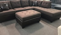 Rev chocalte sectional  Fresno, 93728