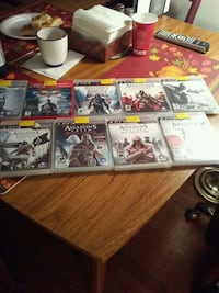 assorted Sony PS3 game cases Toronto, M4L 3A1