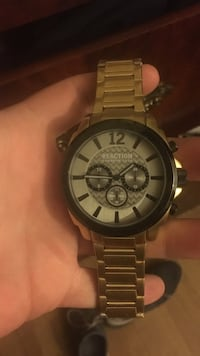 Kenneth Cole reaction gold watch  San Antonio, 78201