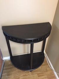 black and gray wooden side table Surrey, V4P 1C5