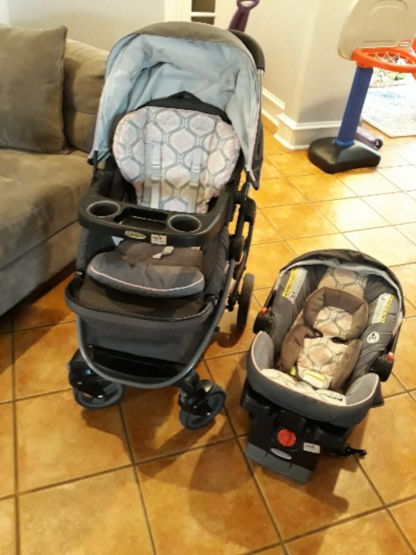 Stroller With Car Seat Graco Modes Click Connect Travel System