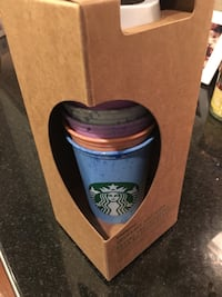 Starbucks Limited Edition Summer Series cups- nice! Silver Spring, 20906