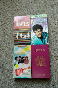 4 Very Rare VHS Tapes Beatles, Queen, Elvis & Monk Chambersburg, 17201