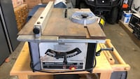 Quality built sears table saw. Rarely used. Comes with table extension and stand. Serious inquiries only please. Brant, N0E