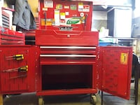 red and black tool box matco