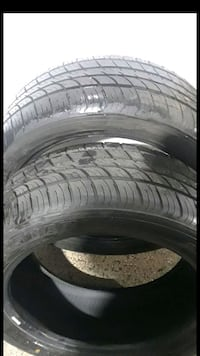 2 Tires Radar 215/50ZR17 Like New  Herndon