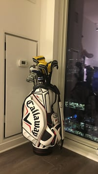 Mens Taylor Made Complete Golf Set Driver with callaway stand bag 芝加哥, 60602