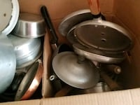 Assorted Pots and pans Merrimac, 01860