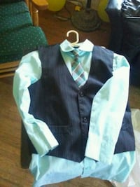 black and white button-up shirt Sand Springs, 74063