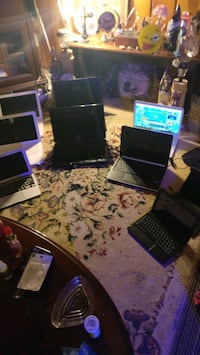 Laptops for sale ranging from 400 to 50 dollars
