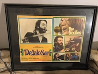 Beatles let it be - mexican lobby cards vintage 1971 pickup only  Toronto, M3L 2K1