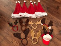 15 Piece Christmas Party Set, Santa hats, antlers Long Beach, 90803