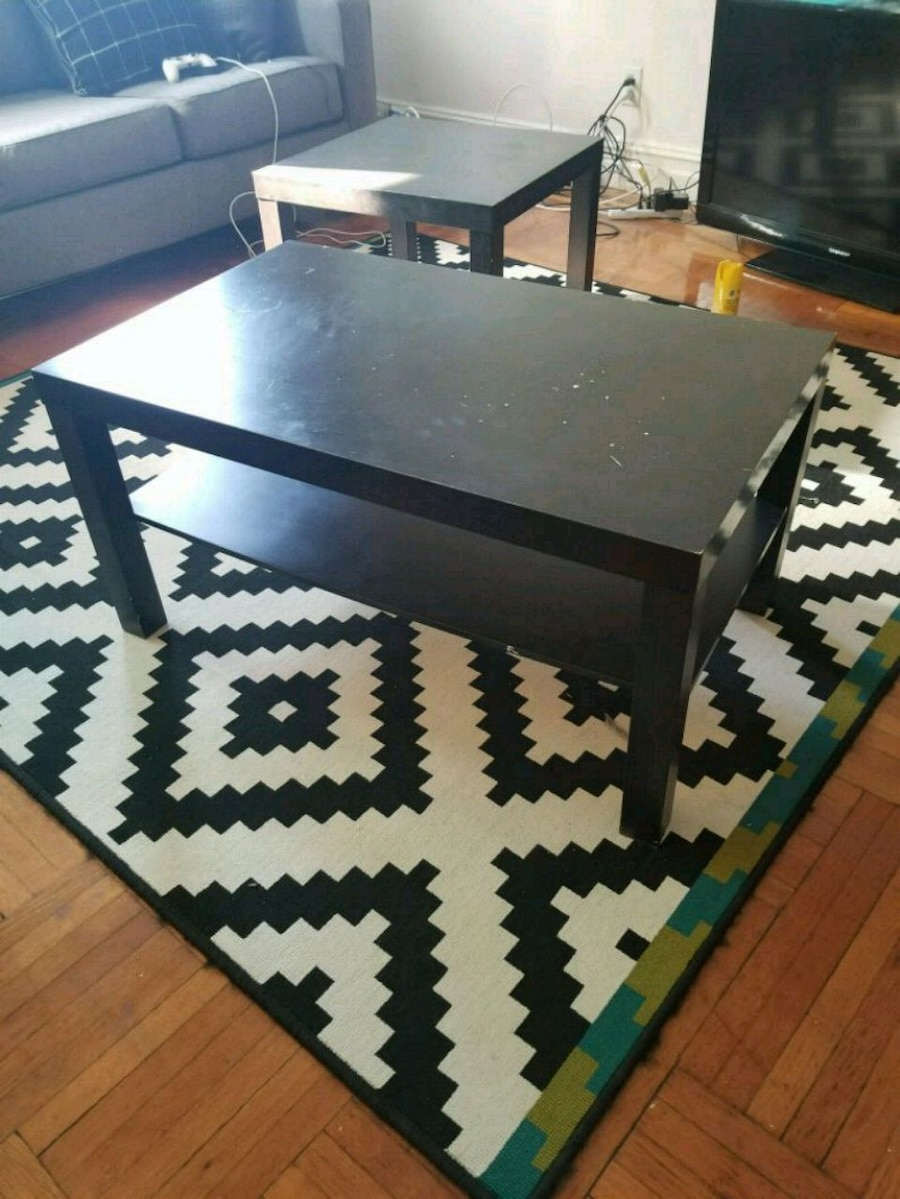 used ikea coffee table and nightstand for sale in brooklyn letgo rh tr letgo com
