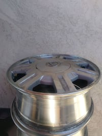 Stock rims from a 2005 Cadillac DeVille