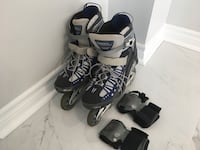 Roller Blades with wrist guard - Men's  Mississauga, L5N 7E4