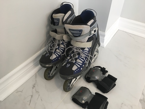 Roller Blades with wrist guard - Men's