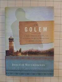 The Golem by Joachim Neugroschel book Ottawa, K1Y 4S2