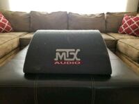 """Mtx 8"""" subwoofer bass tube with built in amp  Carmichael, 95608"""