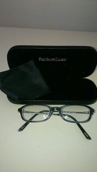 Kid's Polo Ralph Lauren black and grey eyeglasses
