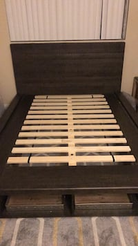 Bed Frame (Queen - Living Spaces) Los Angeles, 90027