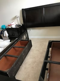 Headboard with bed frame  Germantown, 20874