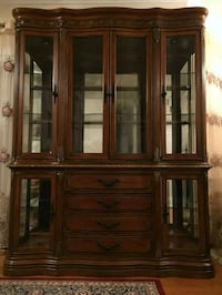 Beautiful Cherry China Cabinet 15 km